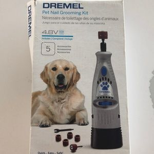Pet nail grooming kit - never used 🐶❤️